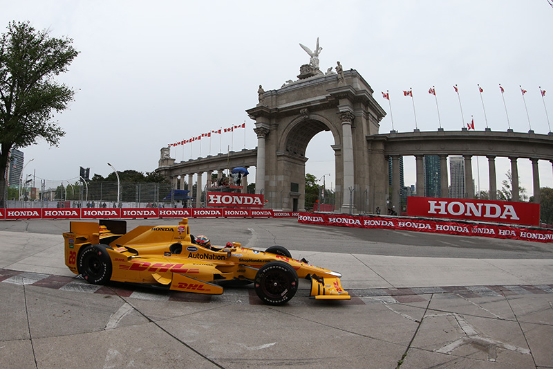 Hondy Indy Toronto Race Results - The Official Website of Ryan Hunter-Reay