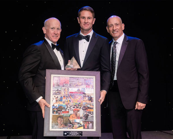 Hunter-Reay Honored with Lifetime Achievement Award